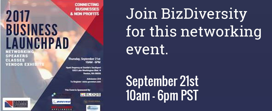 Join BizDiversity for the 2017 Business Launch pad event