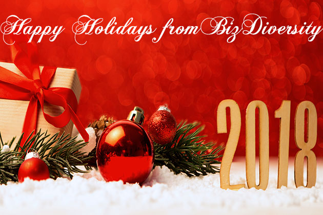 Wishing the BizDiversity Community a Happy Holidays and Prosperous New Year!