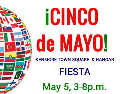 Cinco De Mayo took place on Saturday, May 5th at the Kenmore hANGAR in Kenmore, Washington between 3:30p.m. and 8:00p.m.