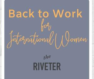 Back to Work for International Women