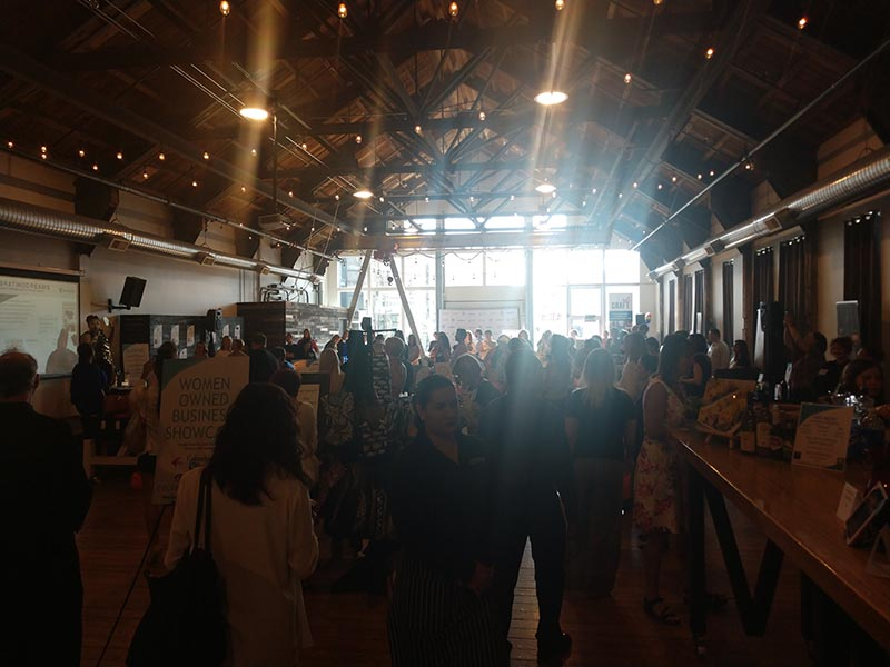 4th Annual Celebrating Dreams - Seattle - May 30, 2019 - Wide shot of Participating women-owned businesses and entrepreneurs