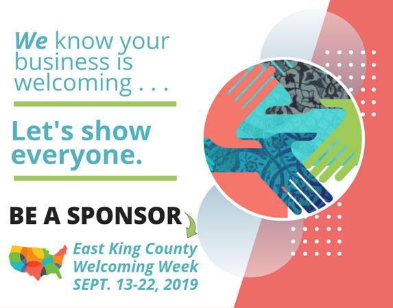 East King County Welcoming Week - September 13-22, 2019