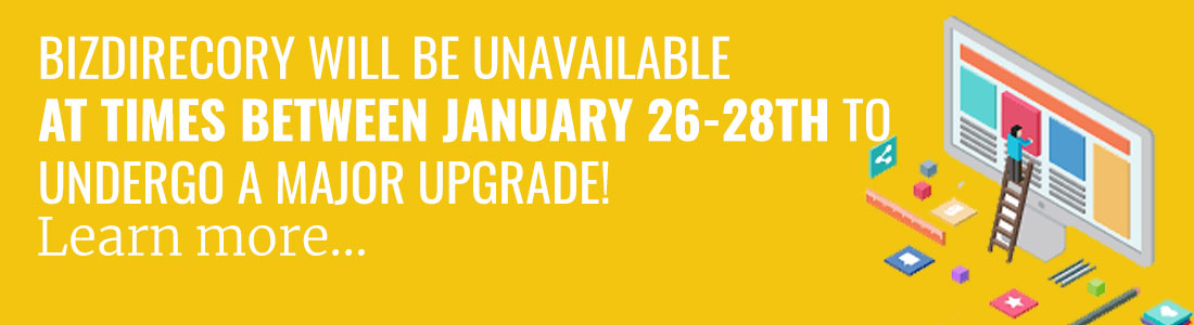 bizdirectory-will-be-unavailable-sunday-january-26-28-due-to-major-upgrade-1100b300
