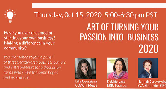 Art of Turning Your Passion into Business 2020 Workshop Recap